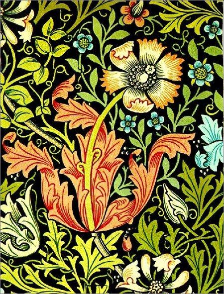 a short biography of william morris a british textile designer
